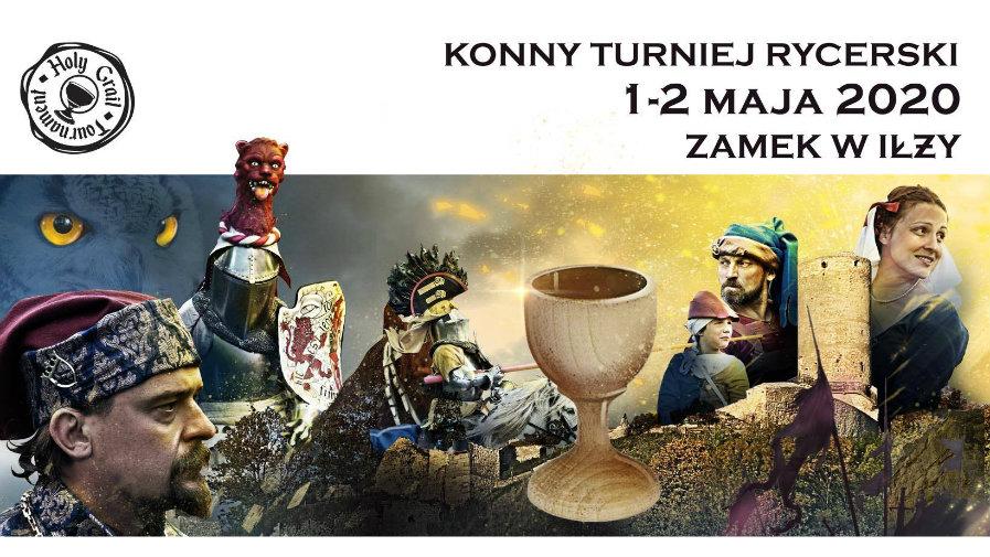 SŁAWA! Konny Turniej Rycerski na Zamku w Iłży. tuż tuż….
