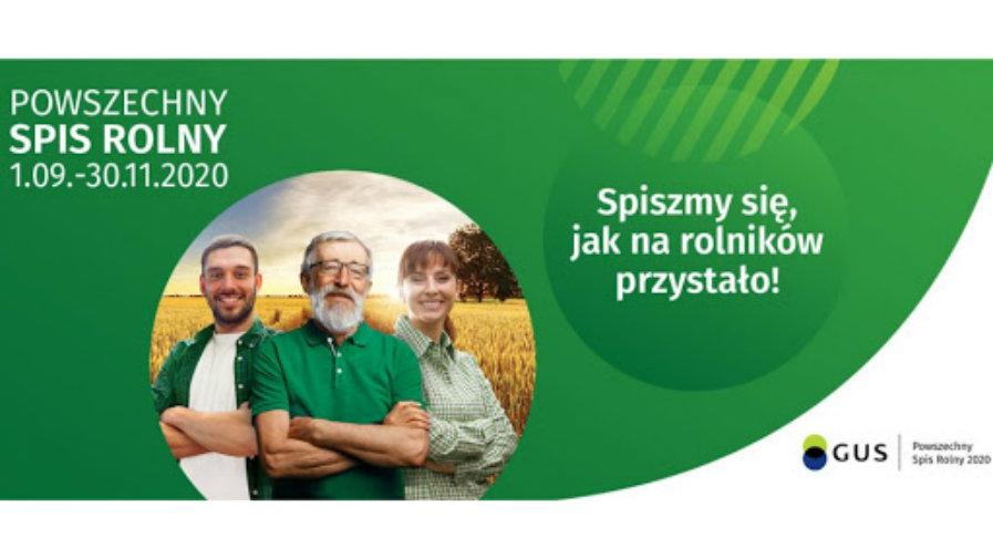 Powszechny spis Rolny 01.09-30.11.2020