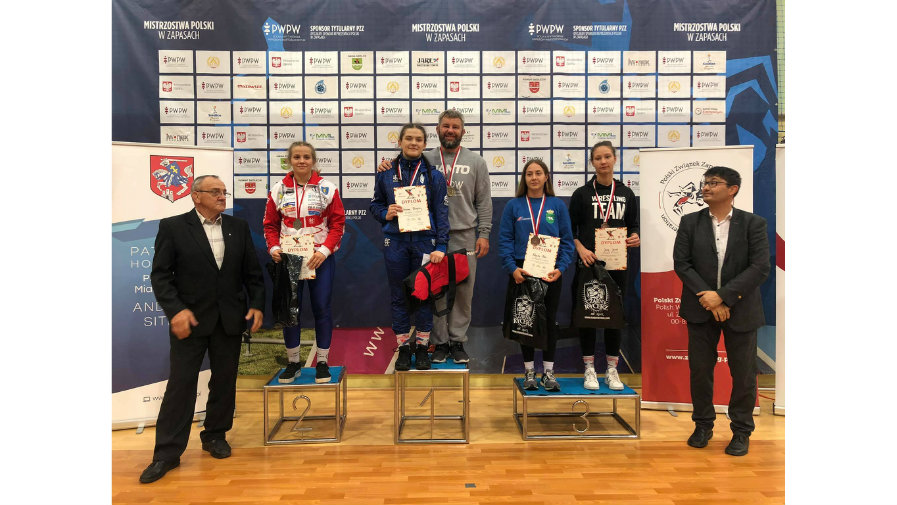 Złoty medal Mistrzostw Polski